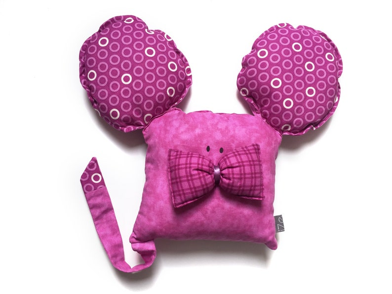 Toy mouse purple image 0