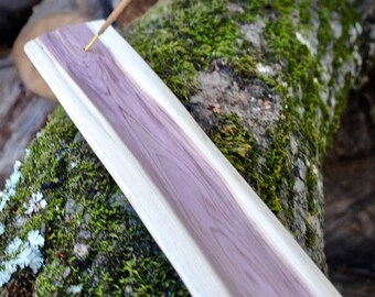 Handmade Rustic Cedar Wood Incense Burner // Great Gift!