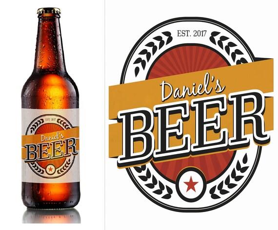 Personnalisé espagnol lager bière bouteille étiquette anniversaire toute occasion cadeau