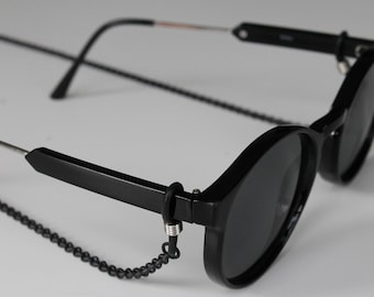 c982b7f77a95 Black Cable Chain Sunglass and eyewear lanyards and cord accessories