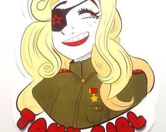 Tank Girl Sticker