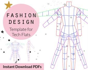 Plus Size Croquis Fashion Croquis Fashion Design Templates