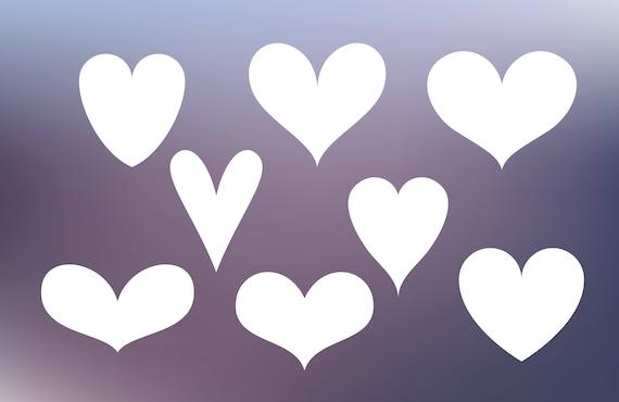 Heart Svg Bundle Heart Svg Cut File Heart Cricut Love Svg Etsy