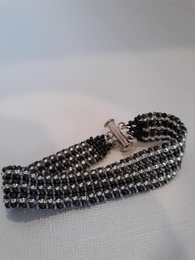 Beautiful hand beaded bracelet
