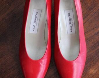 Classic Red Kitten Heels