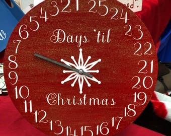 Christmas Advent Clock