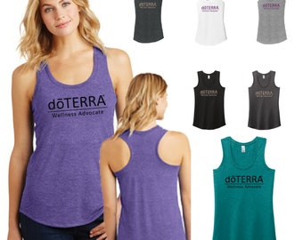 doterra compliance approved womens tank, doterra tank, DoTerra Clothing DM138L doTERRA oils