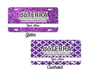 doTerra Compliance Approved Car Tags, doTerra Car Tags, doTerra License Plates, doTerra Frames, doTERRA oils