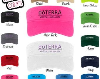 DoTerra Compliance Approved Visor, DoTerra Visor, DoTerra Visor, Visor, DoTerra Clothing, DoTerra CP45 doTERRA oils