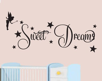 Fairy Sweet Dreams - Wall Art - Wall Sticker, Decal - your wall stickers