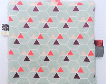 Taggy geometric Triangles (15 cm x 15 cm)