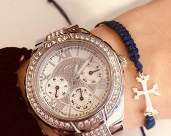 Handmade Silver Sterling Armenian cross bracelets