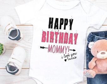 Happy Birthday Mommy Onesie Gift For Mom Cute Custom Gifts