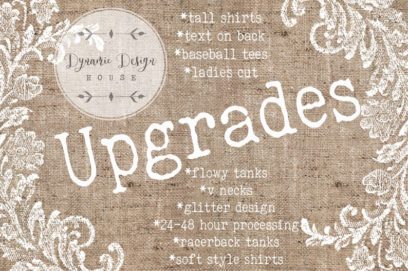 8fe23ff0c Text on back glitter upgrades v-neck upgrade tank top