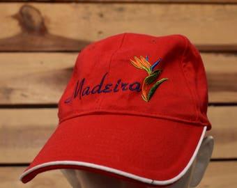 9781f370121 Vintage Madeira Red Hat