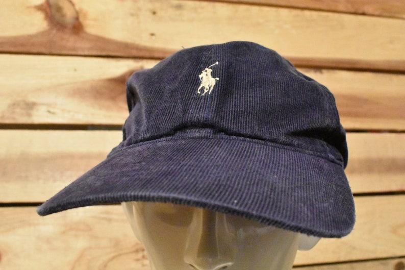 296e01f59cd13 Vintage Ralph Lauren Polo Cord Hat