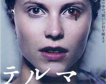 Thelma | Norwegian Cinema, Joachim Trier, Eili Harboe | 2018 original print | Japanese chirashi film poster