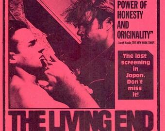 The Living End (B) | 90s New Queer Cinema, Gregg Araki | 2003 print | Japanese chirashi film poster