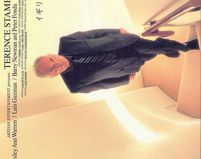 The Limey (B) | 90s Cult Classic, Terence Stamp, Steven Soderbergh | 2000 original print | Japanese chirashi film poster