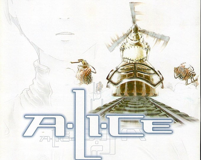 A.LI.CE   Japan CGI Animation Classic   2000 original print   Japanese chirashi film poster