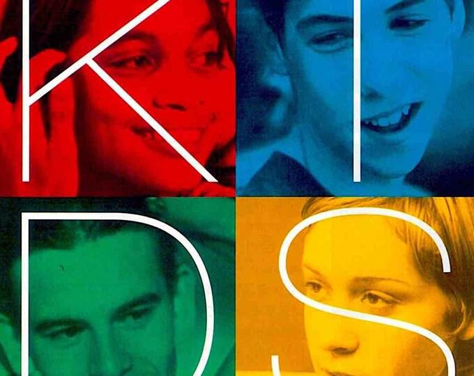 KIDS | 90s Cult Classic, Chloe Sevigny, Larry Clark | 1996 original print | vintage Japanese chirashi film poster