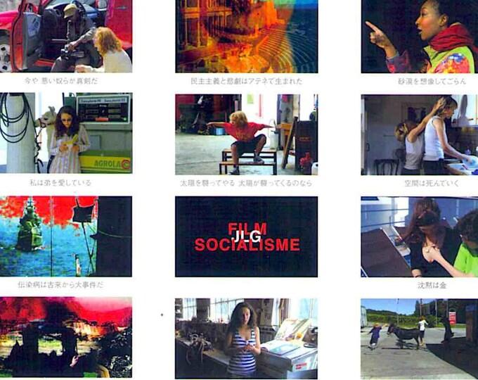 Film Socialisme | French Cinema, Jean-Luc Godard | 2010 original print | Japanese chirashi film poster