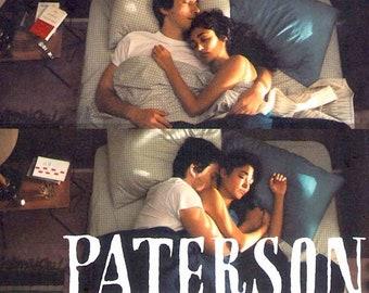Paterson | Jim Jarmusch, Adam Driver, Golshifteh Farahani | 2017 original print | Japanese chirashi film poster
