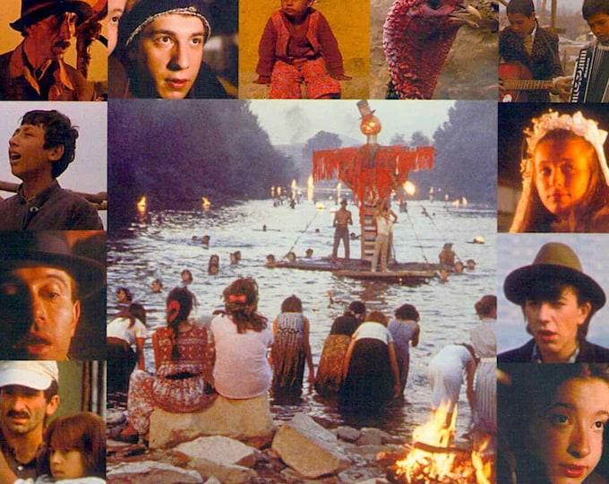Time of the Gypsies   80s Yugoslav Classic, Emir Kusturica   2016 print   Japanese chirashi film poster