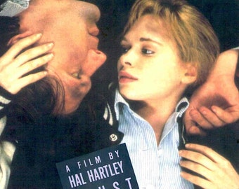 Trust | 90s Independent Classic, Hal Hartley, Martin Donovan | 1993 original print | vintage Japanese chirashi film poster