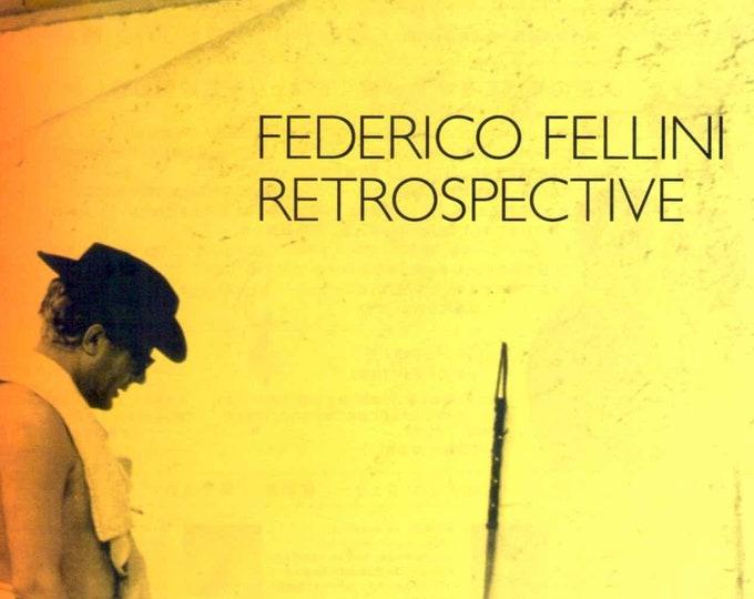 Federico Fellini Retrospective | Italian Classic 1950-80s | 2003 print | Japanese chirashi film poster