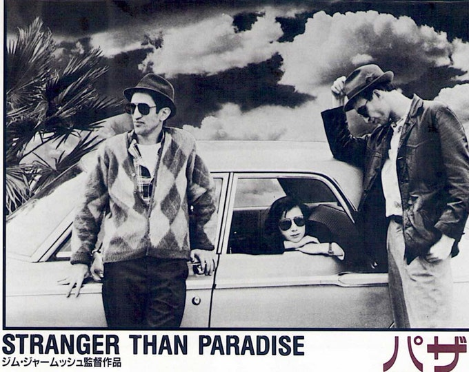 Stranger Than Paradise (B) | 80s Classic, Jim Jarmusch | 1999 print | vintage Japanese chirashi film poster
