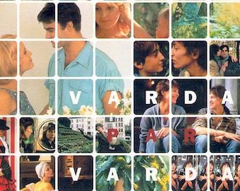 Varda Par Varda: Retrospective | 60s-90s French Cinema, Agnes Varda | 1997 original print | vintage Japanese chirashi film poster