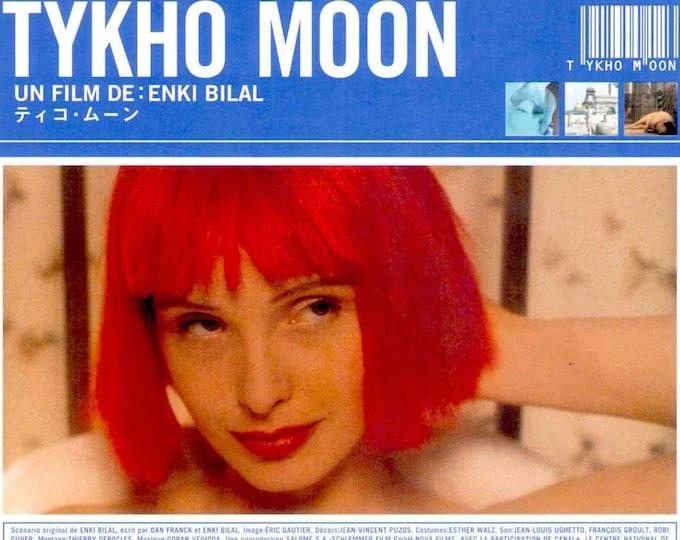 Tykho Moon | 90s French Sci-fi, Julie Delpy | 1997 original print | vintage Japanese chirashi film poster