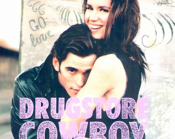 Drugstore Cowboy   80s Cult Classic, Matt Dillon, Kelly Lynch   1990 original print   vintage Japanese chirashi film poster