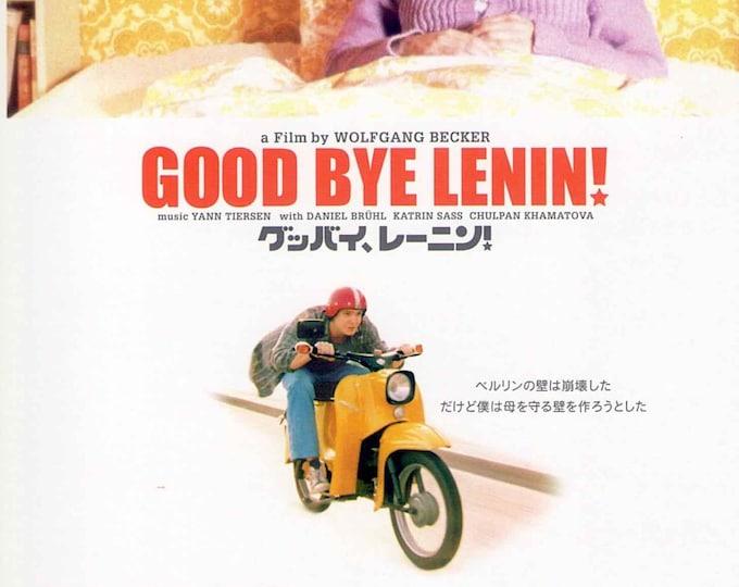 Goodbye Lenin (B) | German Cinema, Daniel Brühl | 2004 original print | Japanese chirashi film poster