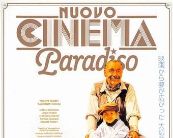Cinema Paradiso (B)   80s Italian Classic   2005 print   Japanese chirashi film poster
