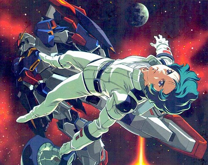 Mobile Suit Zeta Gundam III | Classic Anime Series | 2006 original print | Japanese chirashi film poster