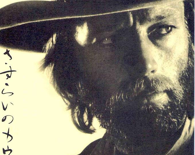 Hired Hand | 70s Cult Western, Peter Fonda, Warren Oates | 2002 print | Japanese chirashi film poster