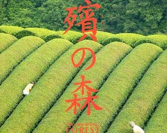 Mourning Forest | Japan Cinema, Naomi Kawase | 2007 original print | Japanese chirashi film poster