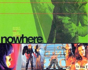 Nowhere | 90s Gregg Araki, James Duval | 1998 original print | vintage Japanese chirashi film poster