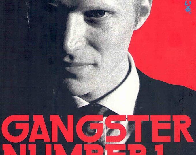 Gangster No. 1 | British Cinema, Paul Bettany, Paul McGuigan | 2003 original print | Japanese chirashi film poster