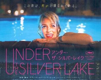 Under the Silver Lake (A) | David Robert Mitchell, Andrew Garfield | 2018 original print | Japanese chirashi film poster