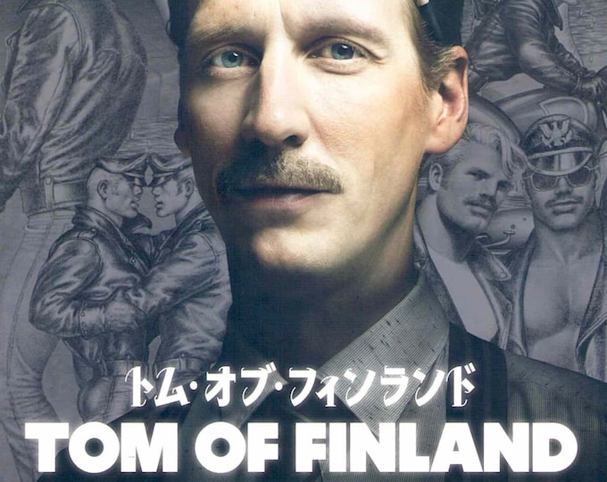 Tom of Finland | Iconic Gay Artist, Dome Karukoski Film | 2019 original print | Japanese chirashi film poster