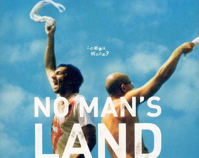 No Man's Land | Bosnian War Movie, Danis Tanovic | 2002 original print | Japanese chirashi film poster