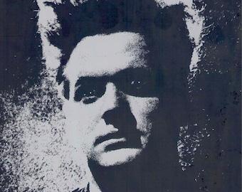 Eraserhead | 70s Cult Classic, John Nance, David Lynch | 1993 print | vintage Japanese chirashi film poster