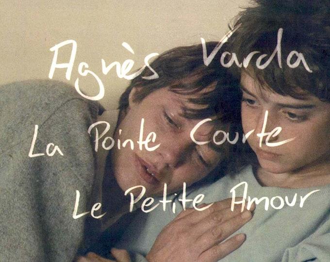 Le petit amour (B)   80s French Classic, Agnes Varda, Jane Birkin   2018 print   Japanese chirashi film poster