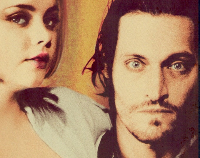 Buffalo 66 (D) | 90s Cult Classic, Vincent Gallo, Christina Ricci | 2021 print | Japanese chirashi film poster