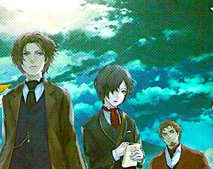 Empire of Corpses | Japan Anime, Project Itoh | 2015 original print | Japanese chirashi film poster