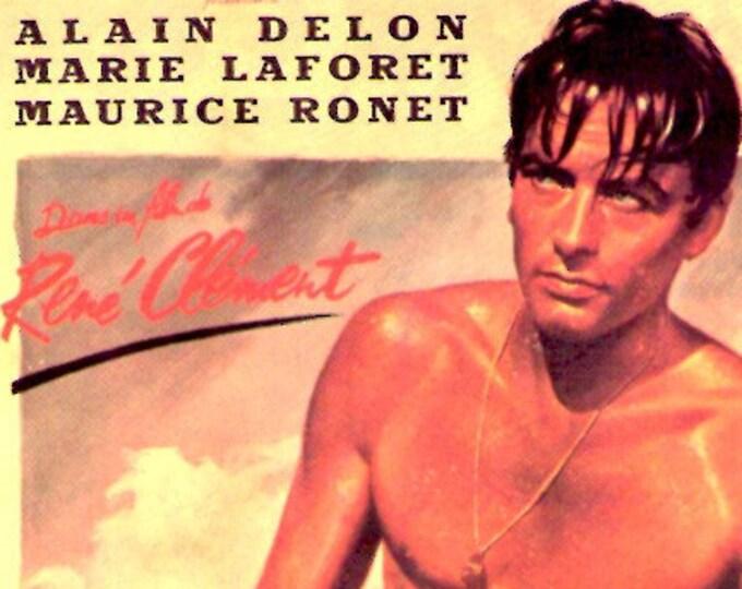 Plein Soleil | 60s French Classic, Alain Delon | 1994 print | vintage Japanese chirashi film poster