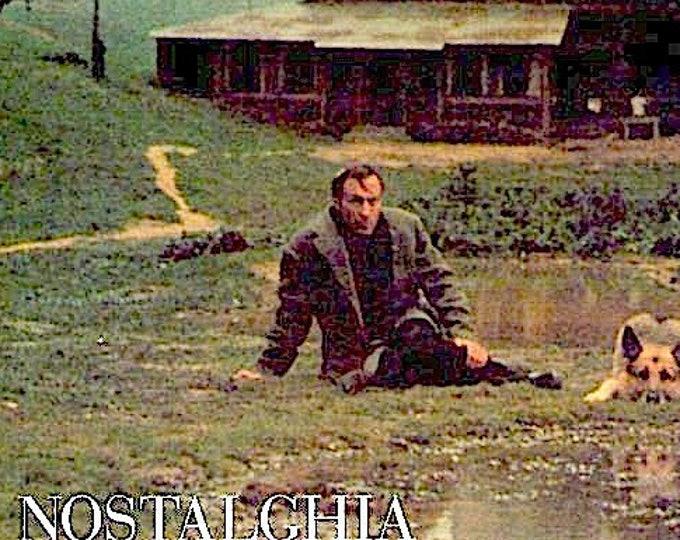 Nostalgia (B) | 80s Classic, Andrei Tarkovsky | 2013 print | Japanese chirashi film poster